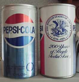Pepsi Collection Page