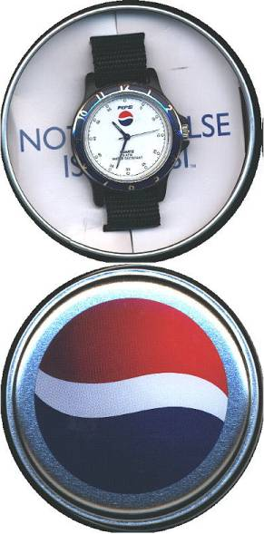 Just found my old Pepsi watch I got from Pepsi points in